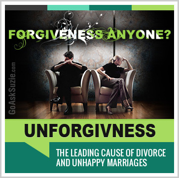 marriage problems are forgiveness problems