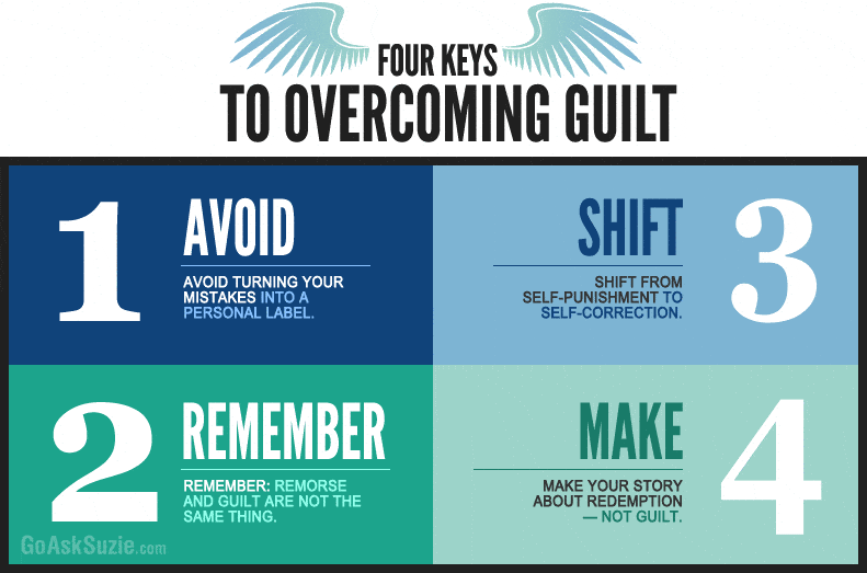 4 Keys to Overcoming Guilt