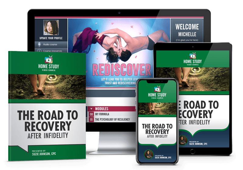 The Road to Recovery After Infidelity Online Course