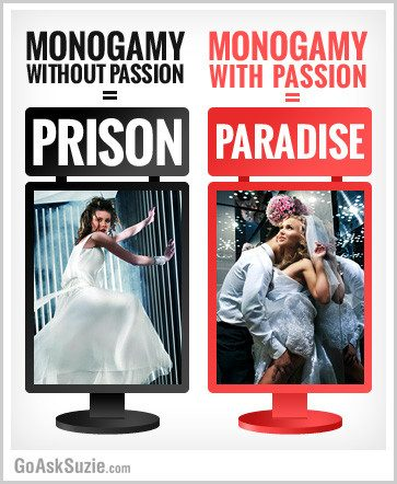 Passion Makes Mongamy Paradise